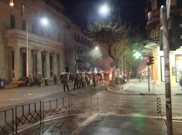 Θεσσαλονίκη: Αποκλιμάκωση της έντασης-Δεκάδες προσαγωγές
