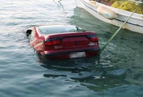 Θεσσαλονίκη: Όχημα μετά από τροχαίο κατέληξε στη θάλασσα