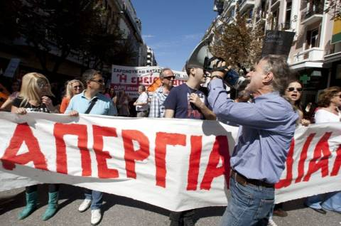 Συνεχίζεται η 48ωρη απεργία της ΑΔΕΔΥ