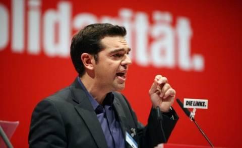 Τσίπρας στο Die Linke: Οι βάρβαρες πολιτικές γεννούν τον νεοναζισμό!