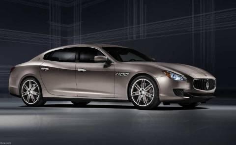 Maserati Quattroporte Zegna και Diesel
