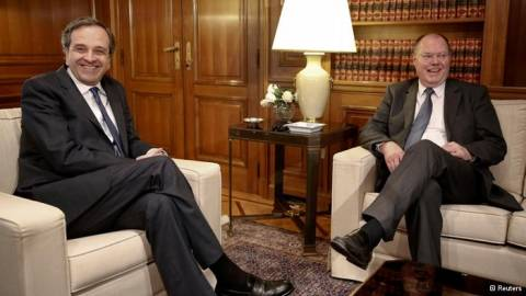 FAZ: «Οι Έλληνες θα ψήφιζαν Στάινμπρουκ»