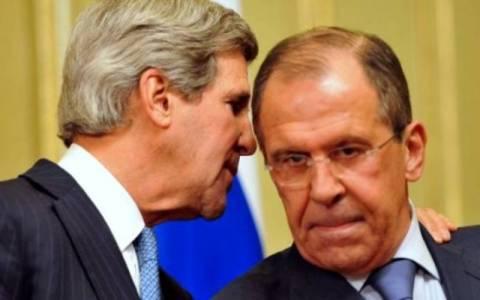 Τηλεφωνική συνομιλία Κέρι – Λαβρόφ για τη Συρία