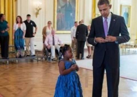Δείτε τι ζήτησε ένα 5χρονο κοριτσάκι από τον Ομπάμα