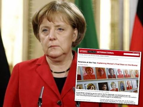 Spiegel: Σε δύσκολη θέση η Μέρκελ-Η «παράνοια» φτάνει στο αποκορύφωμα