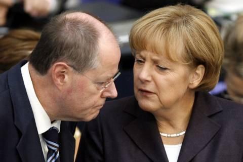 Άσκησαν το εκλογικό τους δικαίωμα Μέρκελ - Στάινμπρουκ