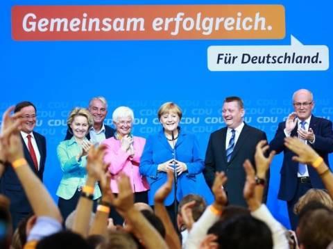Γερμανικές εκλογές: 41,5% συγκέντρωσε το CDU/CSU