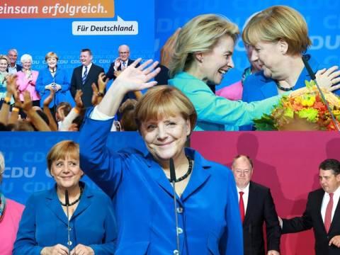 Γερμανία: Ιστορική νίκη για την Μέρκελ αλλά δίχως αυτοδυναμία