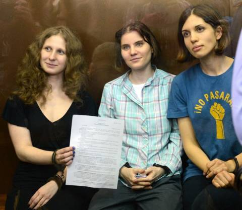 Απεργία πείνας ξεκίνησε μέλος των Pussy Riot