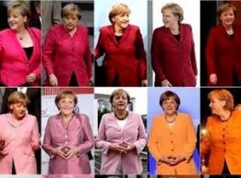 Γιατί δεν ξέρει η Μέρκελ ποιο σακάκι να φορέσει!