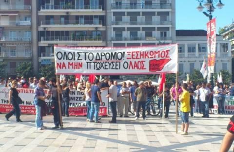 Αντιφασιστικό συλλαλητήριο στην Πάτρα