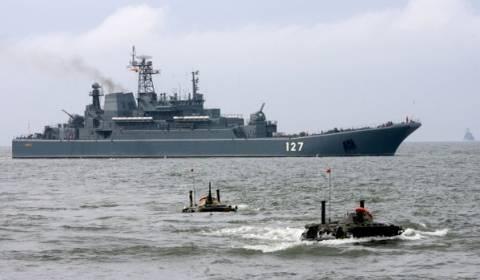 Τα πλοία του Στόλου της Βαλτικής έκαναν αντιτρομοκρατικά γυμνάσια