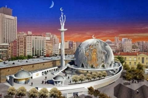 Ερντογάν: Πως ονειρεύεται το νέο τζαμί στην πλατεία Ταξίμ