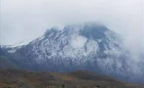 Έπεσε το πρώτο χιόνι στην Τουρκία