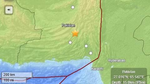 Σεισμός στο Πακιστάν: Κουνήθηκε μέχρι και το Νέο Δελχί