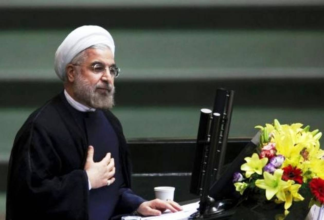 «Βίαιες» χαρακτήρισε τις κυρώσεις στο Ιράν ο πρόεδρος Ροχάνι