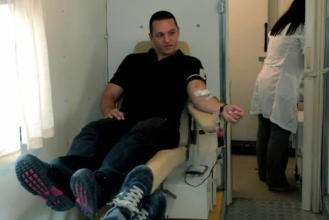 Χρυσή Αυγή: Διοργανώνει αιμοδοσία μόνο για Έλληνες