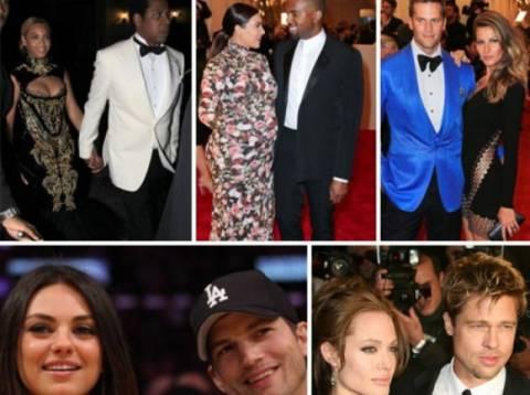 Ποια είναι τα πιο ακριβοπληρωμένα ζευγάρια της χρονιάς;