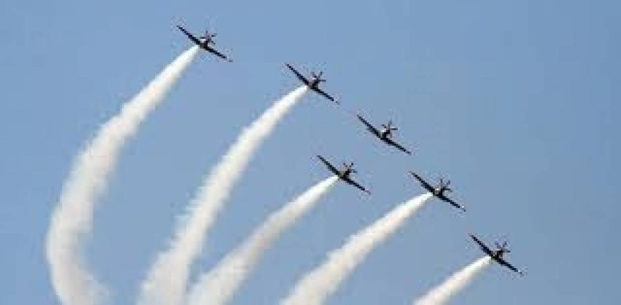 Aεροπορικές επιδείξεις στο Τατόι 27-29 Σεπτεμβρίου