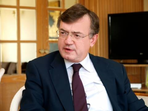Συνάντηση Γεροντόπουλου με τον Κύπριο Πρέσβη