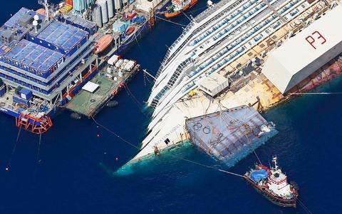 Βρέθηκαν ανθρώπινα οστά στο ναυάγιο του Costa Concordia