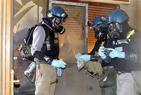 Βεστερβέλε: Τα χημικά όπλα της Συρίας πρέπει να καταστραφούν