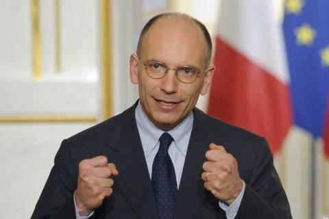 Ιταλία: Την Τετάρτη θα ζητήσει ψήφο εμπιστοσύνης ο Λέτα