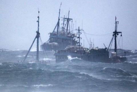Κίνα: Δεκάδες άνθρωποι αγνοούνται μετά το ναυάγιο τριών αλιευτικών