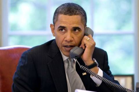 Τηλεφωνικές επικοινωνίες για τον Ομπάμα με τους ηγέτες του Κογκρέσου
