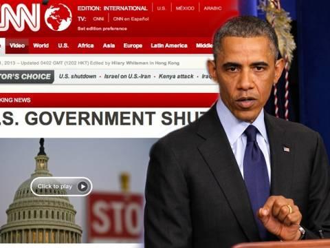 Διακοπή της λειτουργίας της αμερικανικής κυβέρνησης