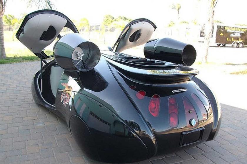 Το διαφορετικό: The extra terrestrial vehicle