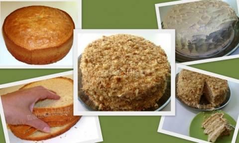 Συνταγή για εύκολη τούρτα της μιας ώρας!