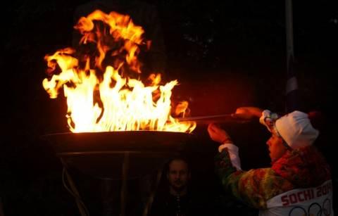 Η Εθνική Λυρική Σκηνή στην παράδοση της Ολυμπιακής Φλόγας