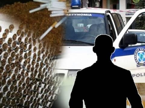 Συνεχίζονται οι συλλήψεις από την ΕΛ.ΑΣ. για λαθρεμπόριο τσιγάρων
