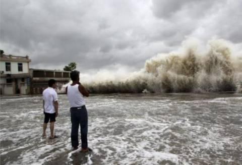 Κίνα: Συναγερμός εν όψει της επέλασης του τυφώνα Φιτόου