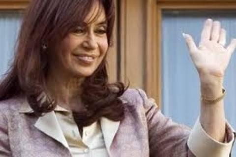 Σε αναρρωτική άδεια ενός μηνός η πρόεδρος της Αργεντινής