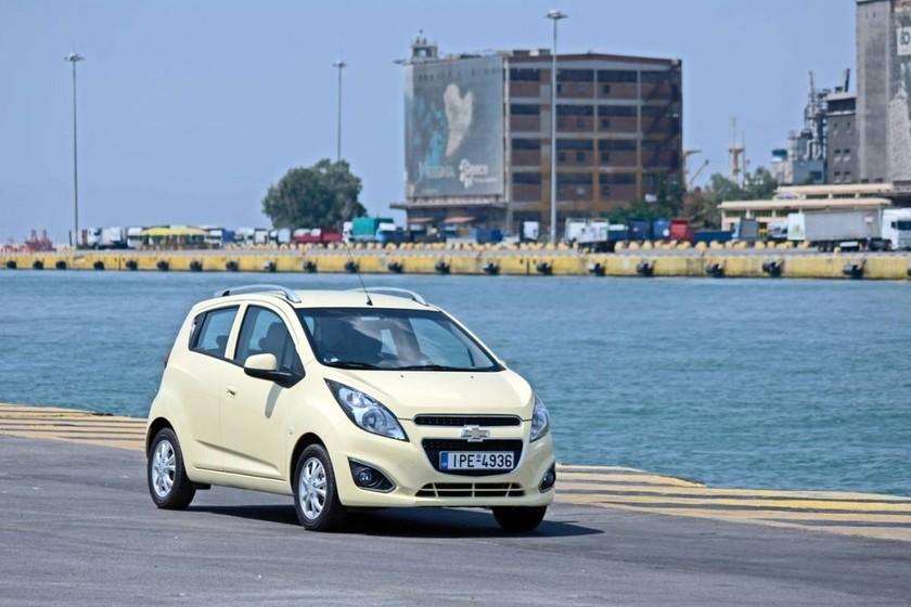 Chevrolet Spark: Τρεις εκδόσεις εξοπλισμού LS – LT – LTZ