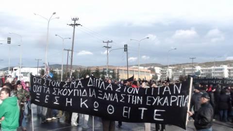 Αθωώθηκαν 8 κάτοικοι της Ευκαρπίας για τα επεισόδια στο ΣΜΑ