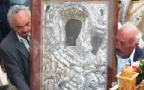 Στη Λαμία η Ιερά Εικόνα της Παναγίας της Οδηγήτριας