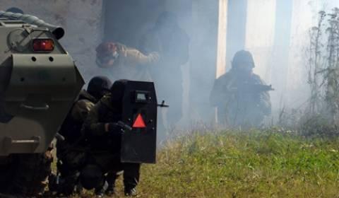 Στρατιωτικές ασκήσεις στα Ουράλια