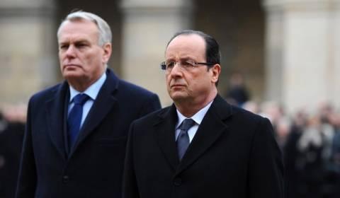 Γαλλία: Πολύ χαμηλά η δημοτικότητα για Ολάντ και Ερό