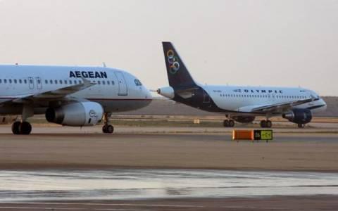 «Πράσινο φως» για τη συγχώνευση Olympic Air και Aegean