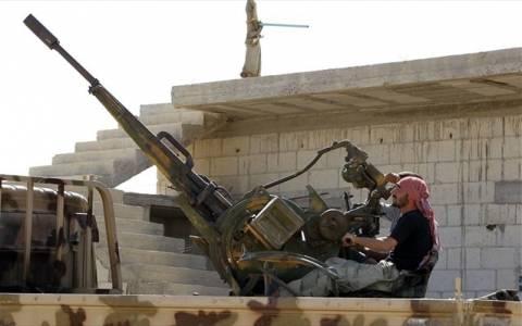 Σύροι αντάρτες κατέλαβαν στρατόπεδο στα σύνορα με την Ιορδανία