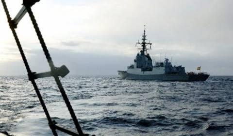 Πλοία του ΝΑΤΟ έφτασαν στην Αγία Πετρούπολη