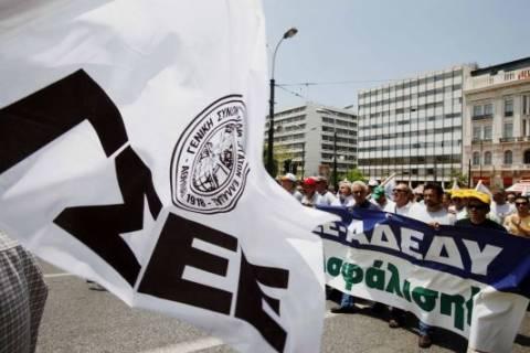 Προς 24ωρη απεργία η ΓΣΕΕ