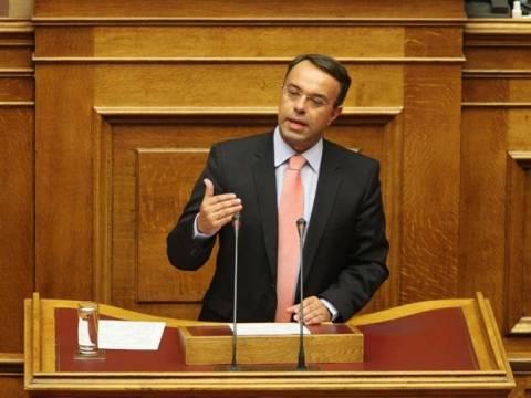 Απαντήσεις  Σταϊκούρα στη Βουλή για εκθέσεις ΔΝΤ και Προϋπολογισμό