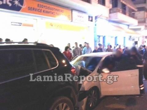 Λαμία: Γυναίκα οδηγός πάτησε γκάζι αντί για φρένο...