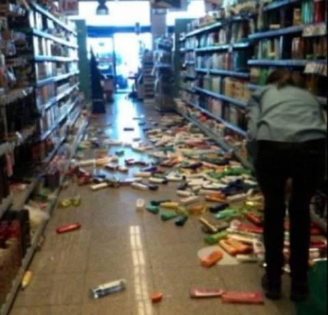Χανιά: Πληροφορίες για τραυματία – Η πρώτη φωτογραφία από τον σεισμό