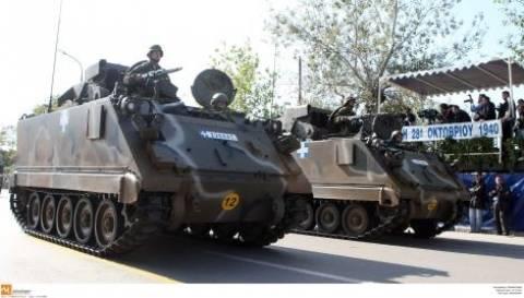 ΠΑΣΟΚ: Τα τανκ δεν είναι για επίδειξη αλλά για άμυνα