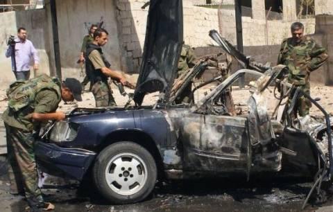 Έκρηξη παγιδευμένων οχημάτων στο κέντρο της Δαμασκού
